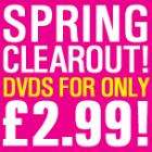 Spring clearout..DVD's for only £2.99 at BlahDVD