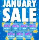 January Sale now on at Bargain Crazy!