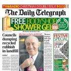 Saturday - The Telegraph FREE BODY SHOP SHOWER GEL WORTH £6.00 Collect Instore