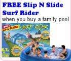 Giant 3-Ring Family Pool  with a  FREE Surf Rider £25.50 delivered  also other offers
