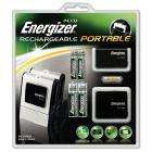 Energizer Portable Battery Charger + batteries £9.99 delivered at Amazon