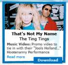 Free Ting Tings Music Video - That's Not My Name - Itunes