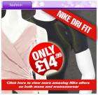 Nike Dri Fit Mens and Womens Sportswear from only £14.99 + 50% cashback + Quidco + Free Wine @ CDiscount!