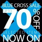 Debenhams Blue Cross Sale now on - Up to 70 % OFF !!