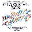 Ultimate Classical Box : Every Classical Track You Will Ever Need (5 CD) - £4.99 delivered @ Hmv!