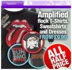 Amplified women's tees, sweaters, dresses - from £11.98 delivered @ CDiscount