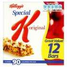 Kelloggs Special K Cereal Bars - Red Berries - Pack of 12 only £2.00 at Tesco