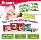 1/3 off all huggies nappies until 27th @ waitrose
