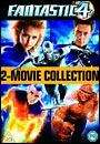 Fantastic Four & Fantastic Four: Rise Of The Silver Surfer: 2 DVD Set £3.99 + Free Delivery @ HMV + Quidco