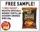 Free crisps at Scottish Spar shops