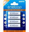 Sanyo Eneloop (pre-charged & rechargeable) AA and AAA batteries 4 pack £6.99 delivered @ 7dayshop