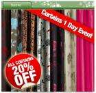 20% Off Curtains @ CDiscount : Plus Free Delivery - 1 Day Only!