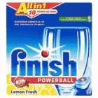Somerfield... Finish Powerball All In 1 Lemon Tablets 42pk half price now £4.74 Instore
