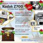 Refurbished 5MP, 4x Zoom Kodak Z700 Camera PLUS Printer Dock Series 3 ONLY  £59.98