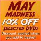 May Madness promo @ Asda - 10% off selected DVDs, CDs & games