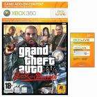 GTA IV Lost and the Damned 1600 Points card PLUS 12 months Xbox Live Gold Subs - £43.98 @ Game Plus Quidco