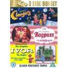 Clangers/Bagpuss/Ivor The Engine - 3 x [DVD] Amazon -  £7.98
