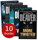 Jeffery Deaver Collection - 10 Books £9.99 @ The Book People