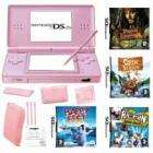 Pink Nintendo DS Lite + 4 Games - £149.99