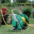Hozelock Floor Standing Hose Reel with 30m Hose & Fittings - £23.90