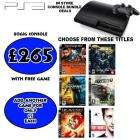 PS3 80GB Console + 2 Games - £270.00 Instore @ Grainger Games