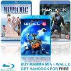Sony BluRay Bundle [Mamma Mia, Wall E & Hancock] £27.01 @ Digitaldirect.co.uk + Quidco