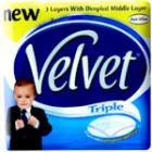16 pack triple velvet toilet roll only £3.00 at Asda