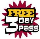Free 3 day pass for Carrefour Health Clubs