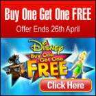 Disney DVD's - Buy One Get One Free for £14.33 at Lovefilm (£13.61 with Quidco)