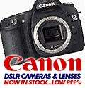 Sale and cashback on Canon cameras and Lenses this weekend