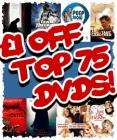 £1 off Top 75 DVDs at CD-WOW + Vouchers