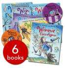 WINNIE THE WITCH - 6 BOOKS AND 2 CDS FOR £6.00 AT BANANAS (FREE DELIVERY OVER £25.00)