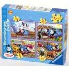 Thomas & Friends - 4 Puzzles in a Box £1 instore @ Sainsburys!