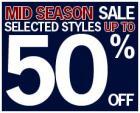 Ben Sherman Midseason Sale - Up to 50% Off !