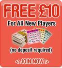 Free £10 bet with Mirror Bingo, no deposit required!