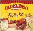 Old El Paso Fajtas Dinner kits £1.49 @ Jack Fultons