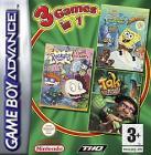Tak + Rugrats + Sponge Bob Supersponge : GBA (all on one cartridge)  - £4.96