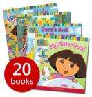 The Complete Dora the Explorer Collection - 20 Books RRP £80.80 only £12.99 + £3.50 delivery @ The Book People