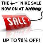 Up to 70% off Nike products @ Kitbag! + 15% off with code!