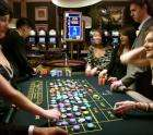 3 course dinner, 2 glasses wine, £25 gambling chip for 2 people - £47 - London casino