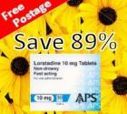 Loratadine (Clarityn) 10mg Tablets x 30 @ chemist-4-u  - 99p free delivery