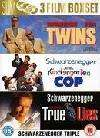 Twins/True Lies/Kindergarten Cop 3 DVD Box Set just £3.89 Delivered @ Sendit + Quidco