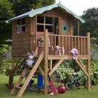 Wooden Tulip Tower Playhouse £282.99 with free delivery & 20% account credit @ Cdiscount this weekend