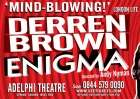 2 for 1 on Derren Brown at London's Adelphi Theatre (Mon to Wed for early July) @ SeeTickets