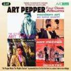 Art Pepper - Four Classic Albums: The Return Of The Art Pepper/ Modern Art/ Art Pepper Meets The Rythm Section/ The Art Pepper £3.99 + Free Delivery @ Play