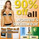 90% off womens swimwear at Bargain Crazy