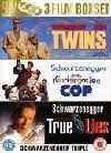 Twins/True Lies/Kindergarten Cop DVD £2.93 delivered @ The Hut