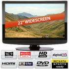 UMC 22in HD Ready LCD TV with integrated digital, CI Slot & DVD Player + a No Fear Hurricane Sport Kite - £168.98 delivered at Bigpockets