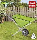 Lidl Folding Wheelbarrow £9.99 from 20.07.09. ideal for festival campers