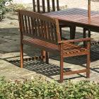 Malaysian Hard Wood Bench Was £50.00 Now £25.00 @ Asda + Del